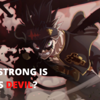 How Strong is Asta's Devil? Is it the Strongest? : Black Clover